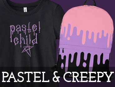 Pastel Goth & Creepy Cute