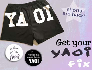 Yaoi Shorts and Merchandise