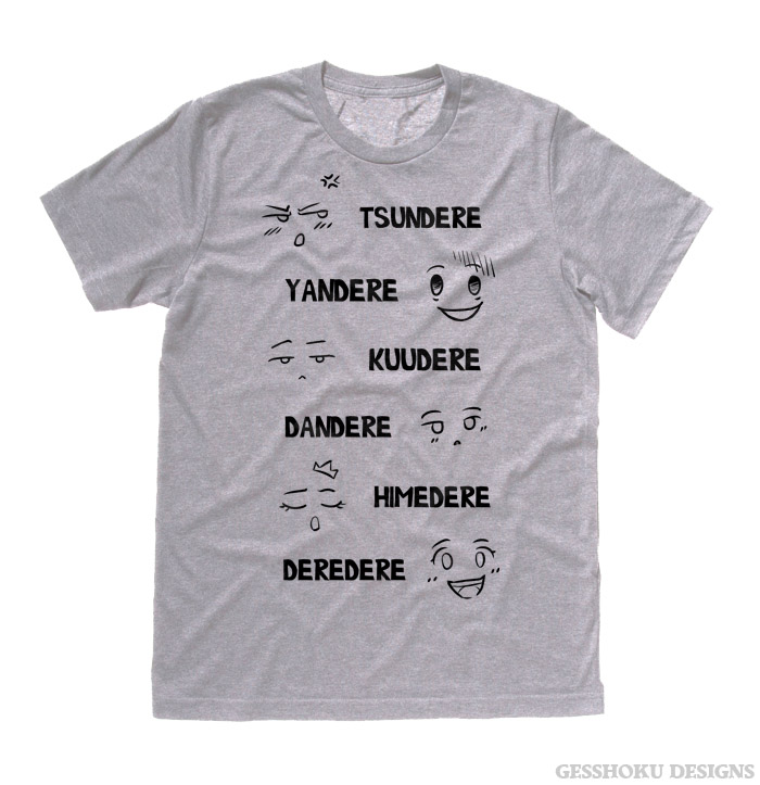 Dere Type Shirt T-shirt - Light Grey