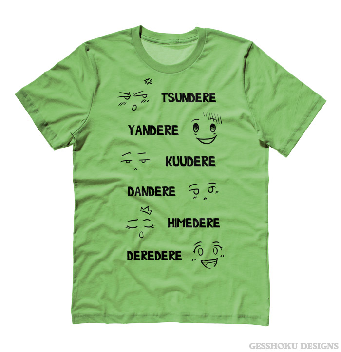 Dere Type Shirt T-shirt - Lime Green