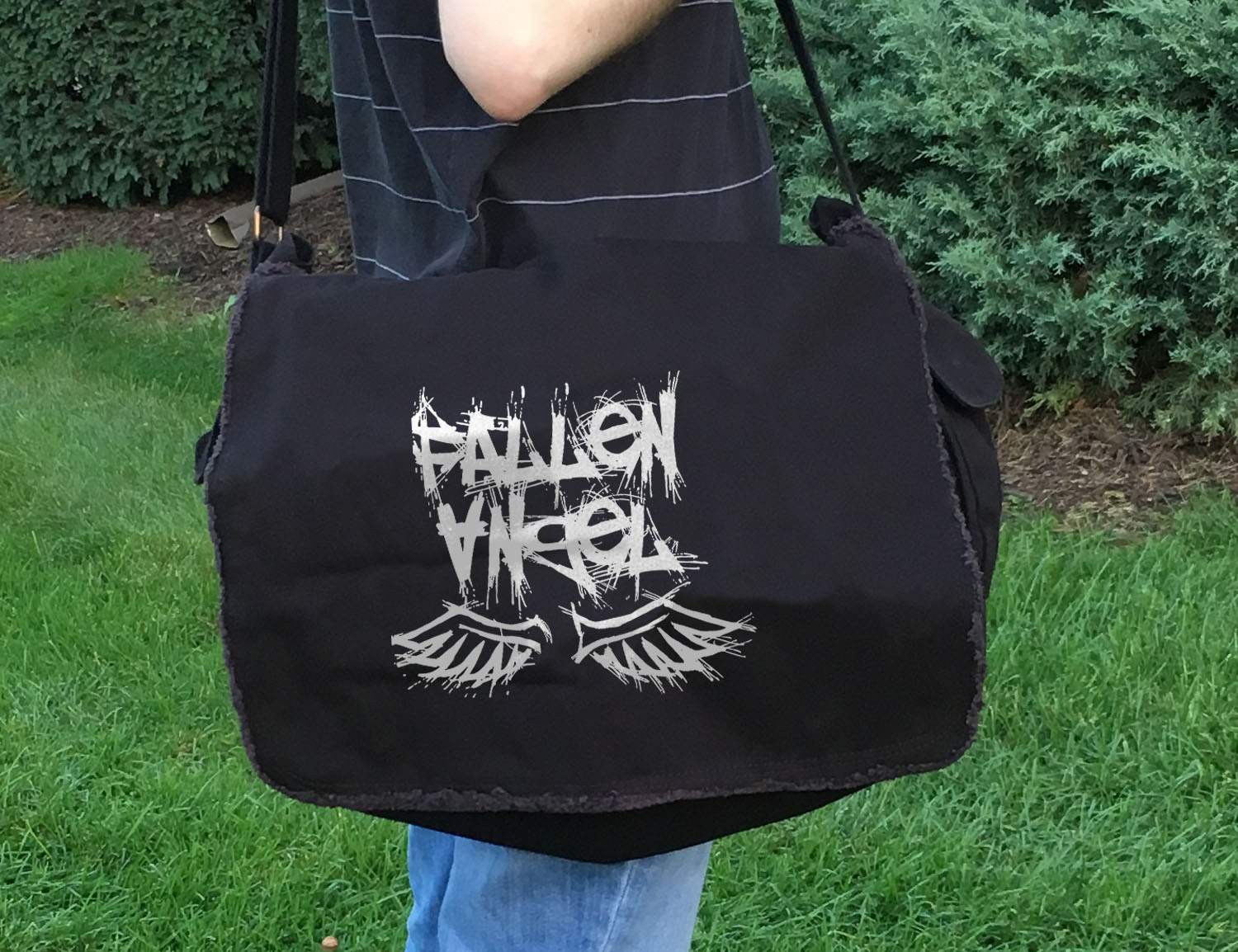 Fallen Angel Messenger Bag -
