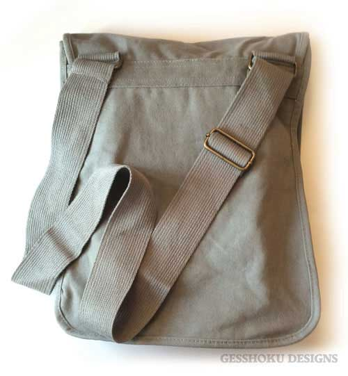 Field bag reverse side