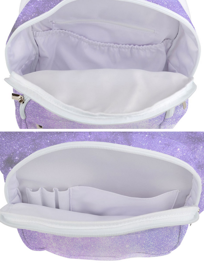 Pastel Purple Galaxy Backpack -