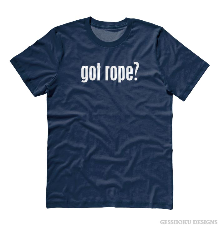 Got Rope? T-shirt - Navy Blue