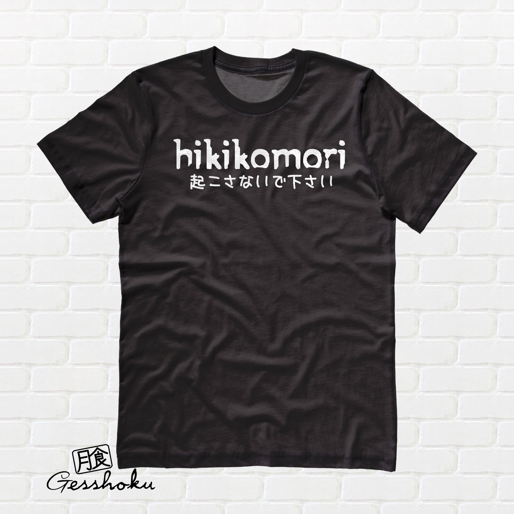Hikikomori T-shirt - Black