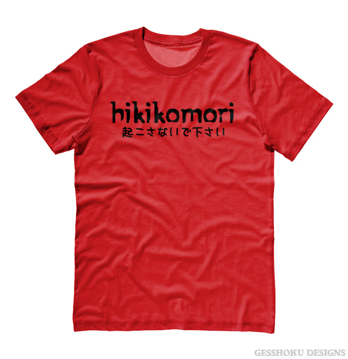 Hikikomori T-shirt - Red
