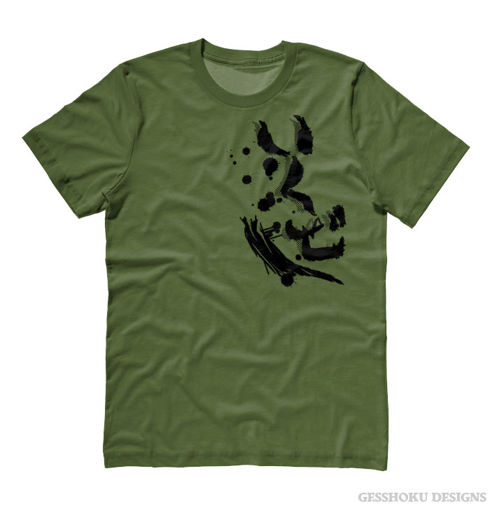 Anime Guide To Hiragana: Ikuze! Let's Go Kanji T-shirt