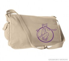 Catboys are Love Messenger Bag