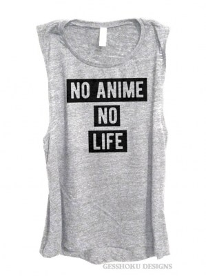 No Anime No Life Sleeveless Tank Top