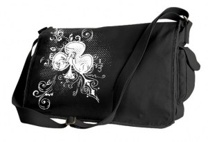 Ace of Clovers Messenger Bag