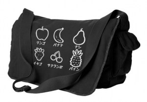 Fruits Party Messenger Bag