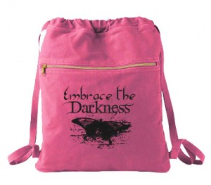 Embrace the Darkness Cinch Backpack
