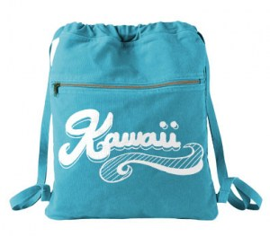 Kawaii Retro Cinch Backpack