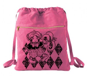 Enchanting Dancing Mime Cinch Backpack