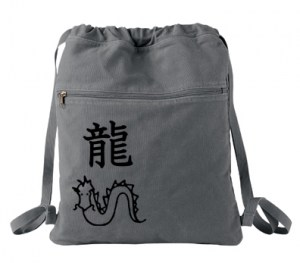 Year of the Dragon Cinch Backpack