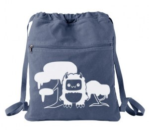 Tricky Yeti's Magical Forest Cinch Backpack