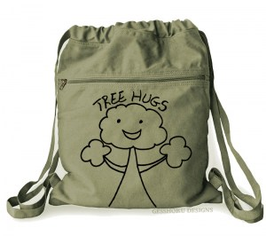 Tree Hugs Cinch Backpack