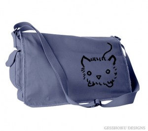 Fuzzy Kitten Messenger Bag