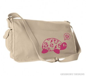 Harajuku Kame Turtle Messenger Bag
