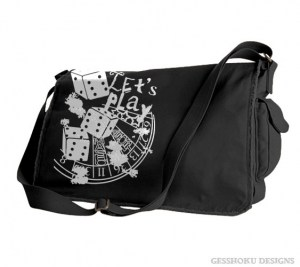 Let's Play 666 Messenger Bag