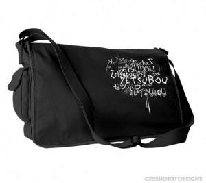 Despair Zetsubou Messenger Bag