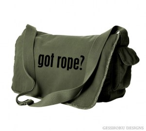Got Rope? Messenger Bag