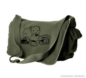 Squirrels and Sweets Messenger Bag