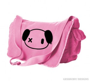 Punk Panda Messenger Bag