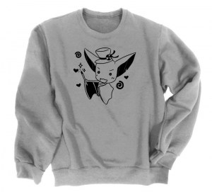 It's Showtime! Magical Bat Crewneck Sweatshirt