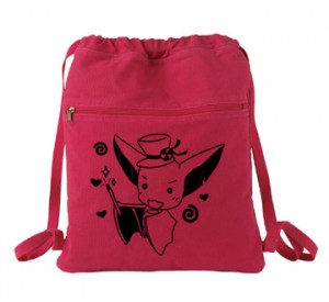 It's Showtime! Magical Bat Cinch Backpack