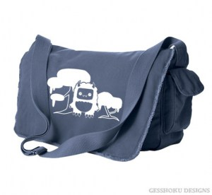 Tricky Yeti's Magical Forest Messenger Bag