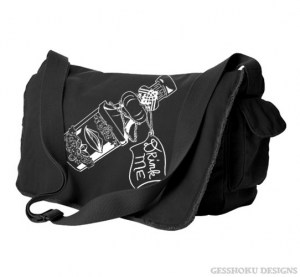 Drink Me ~ Wonderland Messenger Bag