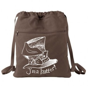 I'm a Hatter! Cinch Backpack