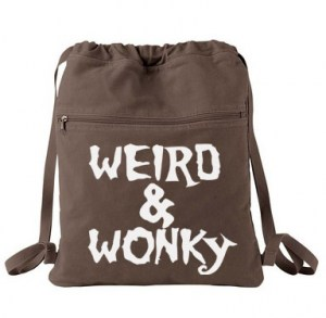 Weird & Wonky Cinch Backpack
