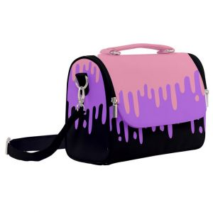 Pastel Slime Drips Satchel Shoulder Bag