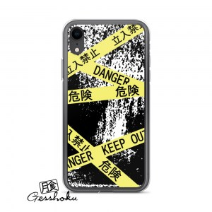 Caution Tape Aesthetic Phone Case for iPhone/Galaxy