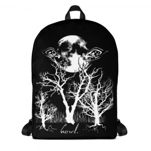 Howl: Eyes of the Night Forest Classic Backpack with Laptop Sleeve