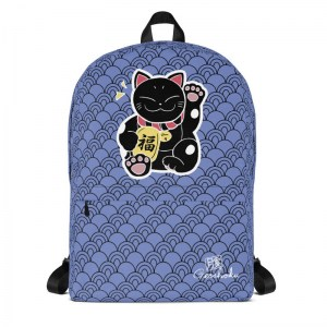 Maneki Neko Classic Backpack with Laptop Sleeve