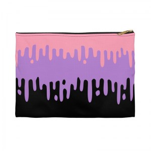 Pastel Drips Pencil Pouch