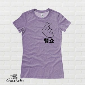 "Peace Out ""Haengsho"" Korean Ladies T-shirt"