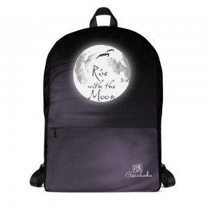 Rise With the Moon Classic Backpack with Laptop Sleeve
