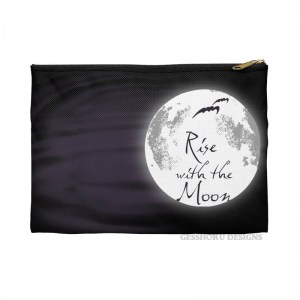 Rise with the Moon Pencil Pouch