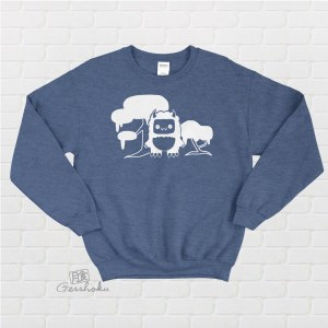 Tricky Yeti's Magical Forest Crewneck Sweatshirt