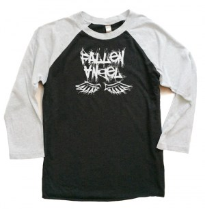 Fallen Angel Raglan T-shirt 3/4 Sleeve