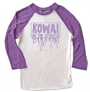 Kowai in the Streets Raglan T-shirt