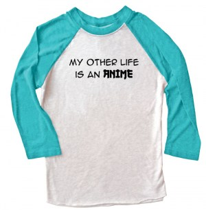 My Other Life is an Anime Raglan T-shirt