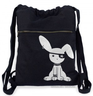 Jrock Bunny Cinch Backpack