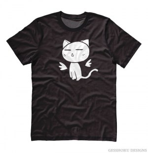 Angel Wings Kawaii Kitty T-shirt