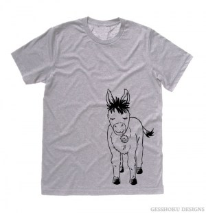Donkey with Flower T-shirt