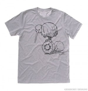 Fruity Kiwi Bird T-shirt